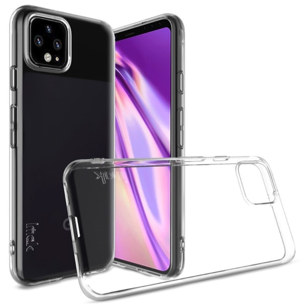 IMAK UX-5 Series TPU Cell Phone Cover for Google Pixel 4 XL Transparent