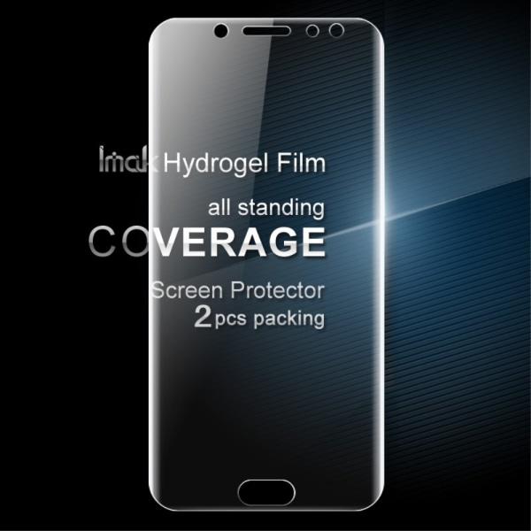 IMAK Skärmskydd till Samsung Galaxy J7 2017 - Soft Hydrogel 2-pa Transparent