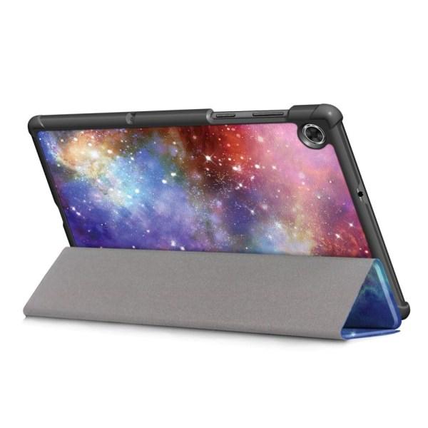 Tri-fold Fodral till Lenovo Tab M10 Plus FHD - Galaxy  multifärg