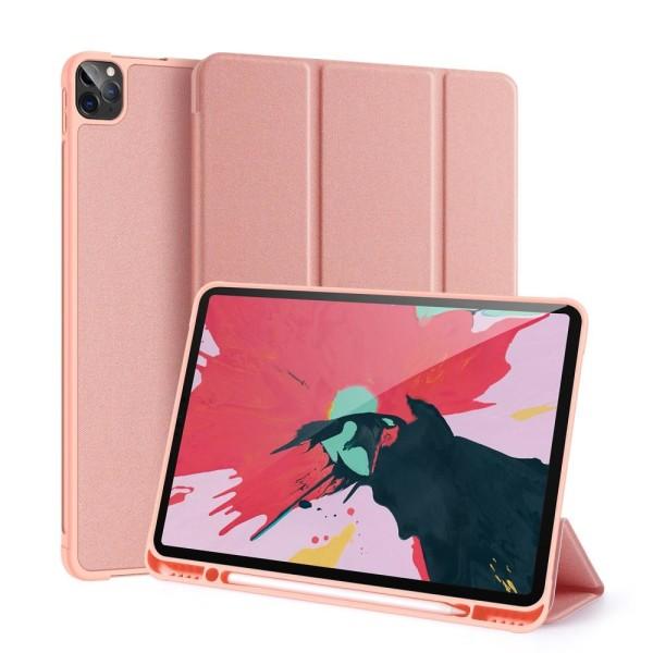 DUX DUCIS Osom Apple iPad Pro 12.9 2020/2018 fodral Tri-Fold - R Rosa