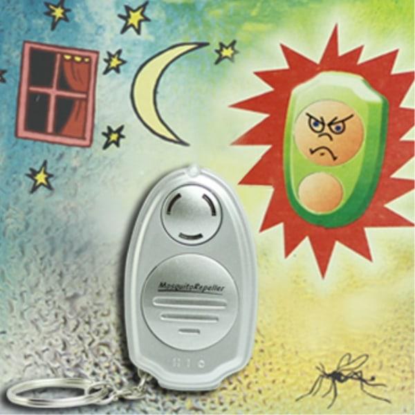 Ultraljud Anti Mygg Insekt Repellent Repeller med nyckelring