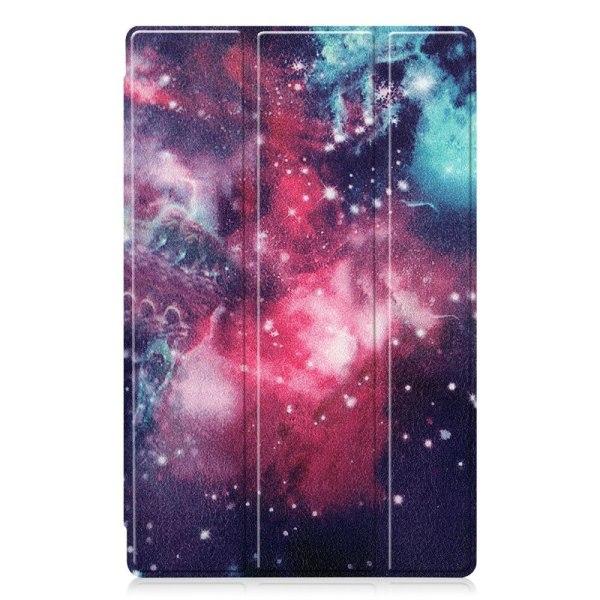 Tri-fold Fodral till Lenovo Tab M10 HD Gen 2 - Cosmic Space multifärg