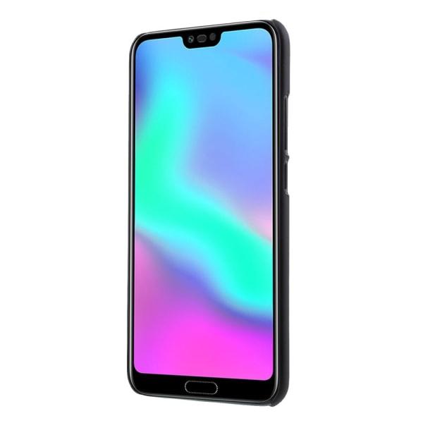 Gummerat PC Hårt skal till Huawei Honor 10 - Svart Svart