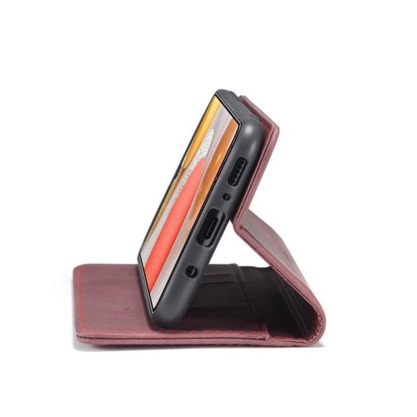 CASEME Plånboksfodral Samsung Galaxy S21+ (Plus) - VinRöd Vin, röd