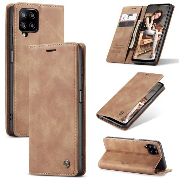 CASEME Plånboksfodral Samsung Galaxy A12 - Brun Brun