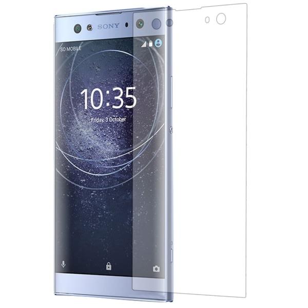 Sony Xperia XA2 Ultra Heltäckande Full Coverage Härdat glas Transparent
