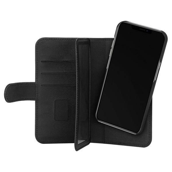 iPhone 13 Pro GEAR Mobile Black 7 korttipaikka 2in1 magneettikotelo Black