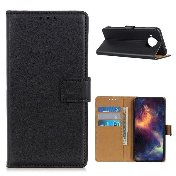Lompakkokotelo Matkapuhelinkotelo Xiaomi Mi 10T Lite: lle Black