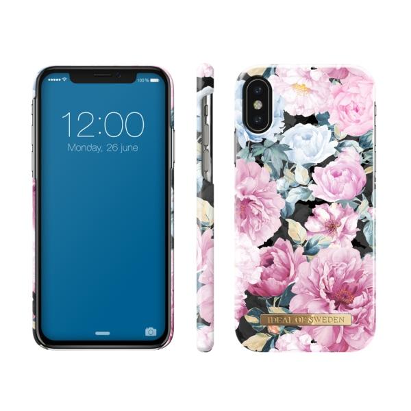 iDeal Of Sweden iPhone X / XS etui - Peony Garden Multicolor