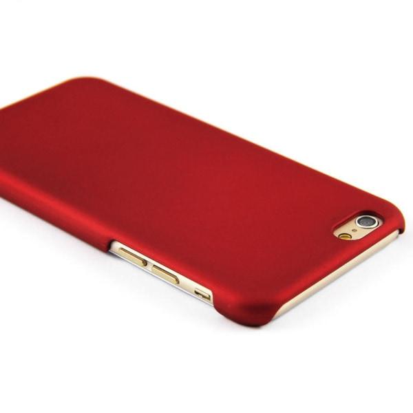 Rubberized Hard PC Case for iPhone 8 Plus / 7 Plus - Black Black