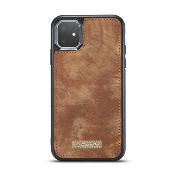 iPhone 11 CASEME Split Wallet Case - Brown Brown