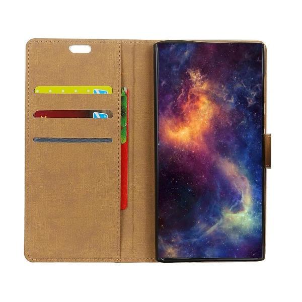 Samsung Galaxy S9 G960 Stand Wallet Leather Case - Black Black
