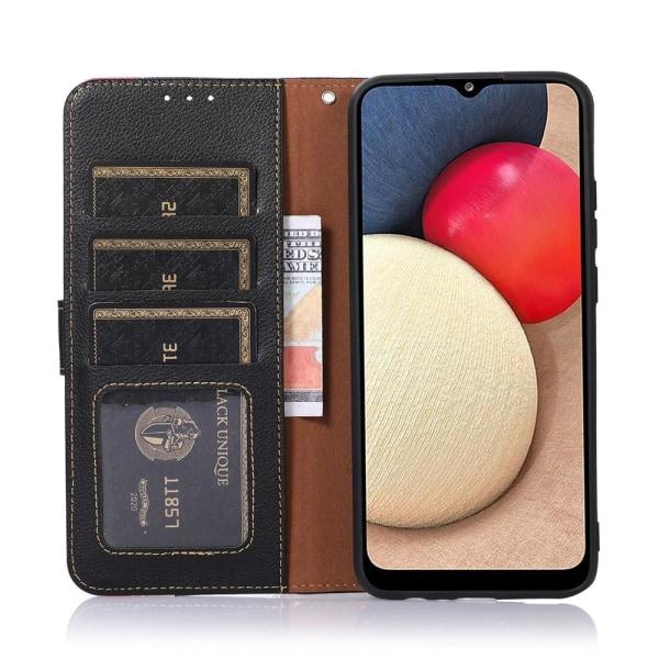 KHAZNEH Puhelimen Kuori - Xiaomi Redmi Note 10 4G / 10S - Punainen / Musta Black