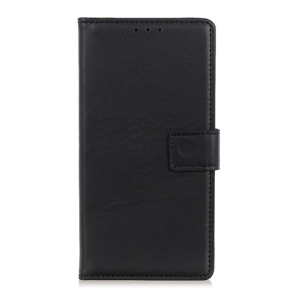 OnePlus 9 Pro Wallet Stand Protective Phone Case - Black Black