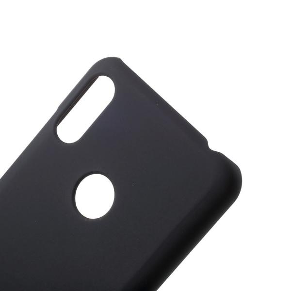 Huawei Y6 (2019) Rubberized HårdPlast Skal - Svart Svart
