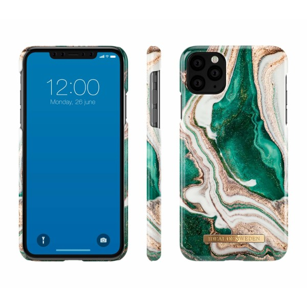iDeal Of Sweden iPhone 11 Max Pro / XS Max - Golden Jade Marble Guld