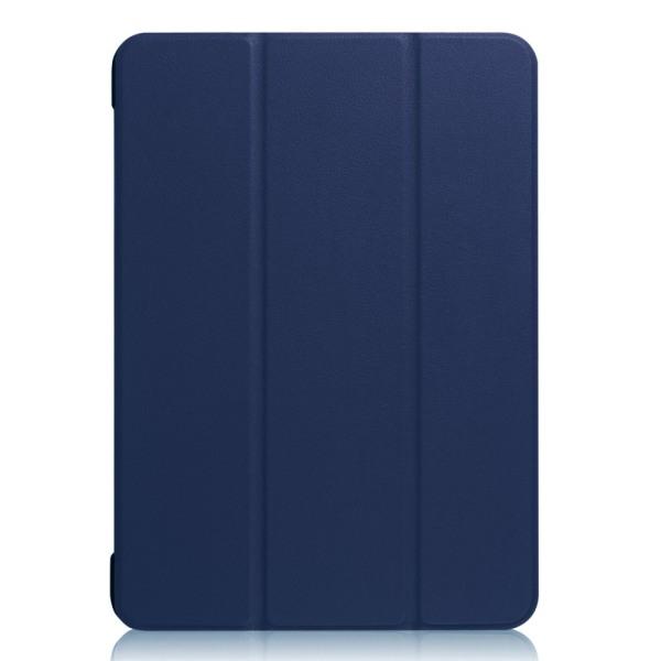 "iPad 9.7"" (2017 / 2018) Slim fit tri-fold fodral - Mörk Blå Mörkblå"