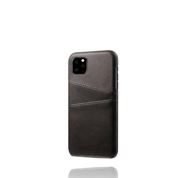 iPhone 11 Skal med kortplatser - Svart Svart