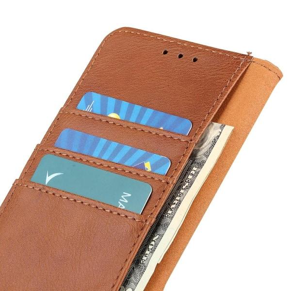 KHAZNEH Samsung Galaxy A32 5G Plånboksfodral - LjusBrun Brun
