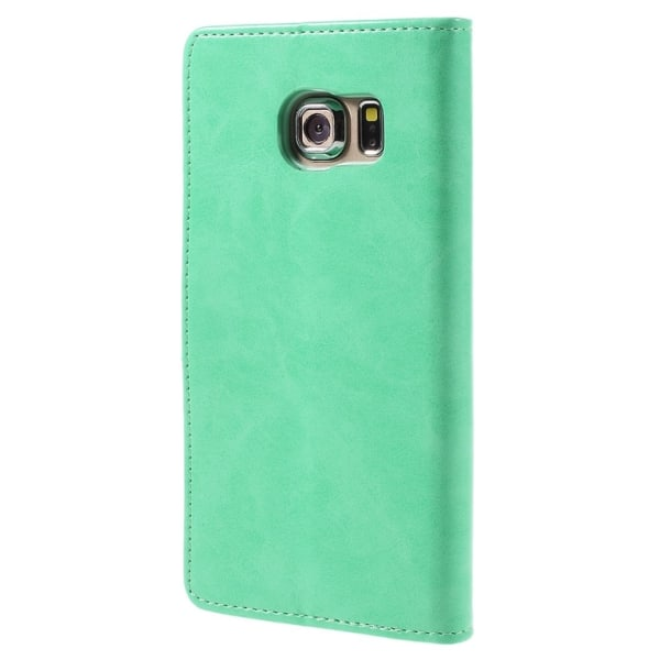 Mercury Goospery Blue Moon till Samsung Galaxy S6 Edge Plus Grön