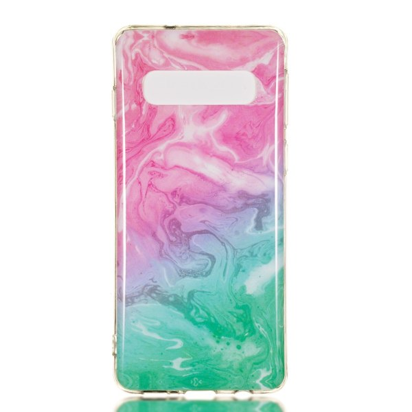 MTK Samsung Galaxy S10 TPU Marmor - Style G multifärg