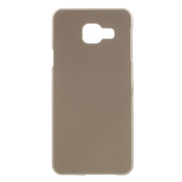 Samsung Galaxy A3 (2016) Rubberized hard case - Champagne Transparent