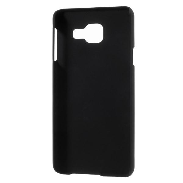 Samsung Galaxy A3 (2016) Rubberized hard case - Svart Svart