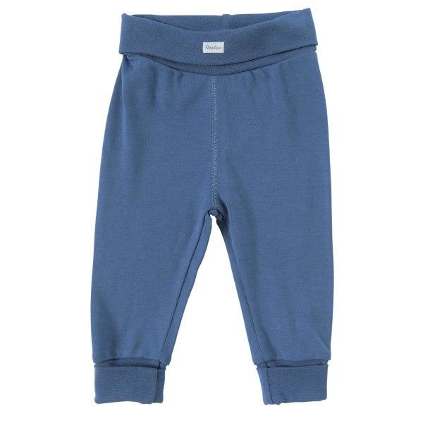 Newborn Byxa i bambu - Blå Blue 56 / Blå