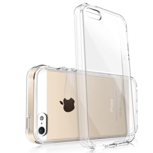 Transparent silikonskal till iPhone 5 / 5S / SE 3mm tunt skal