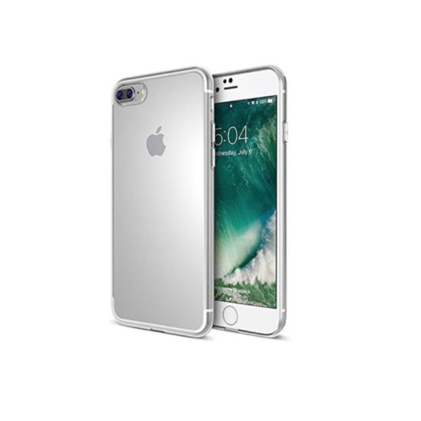 iPhone 8 PLUS+ Skal  / Transparent / Tunt silikon skal tunt-3mm