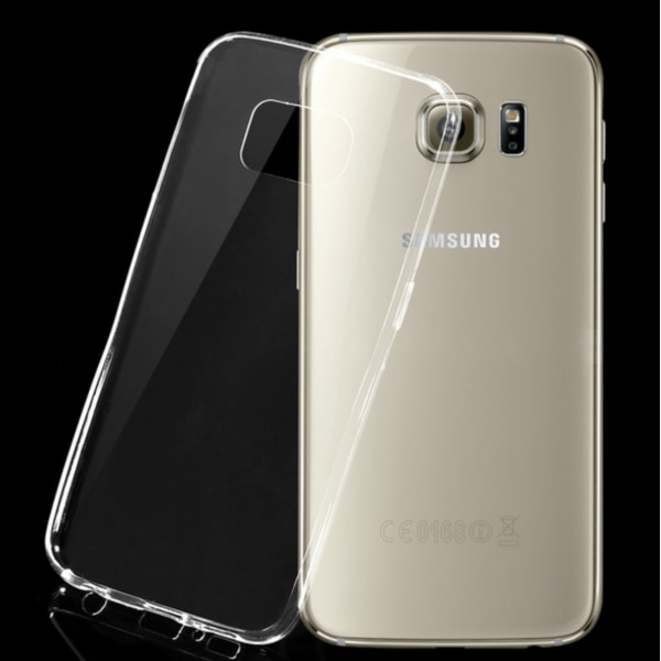 Samsung Galaxy S6 Silikon skal Transparent - Skyddar perfekt 3mm
