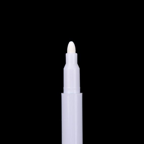 1-10 st vit flytande krita penna / markör för glasfönster krita