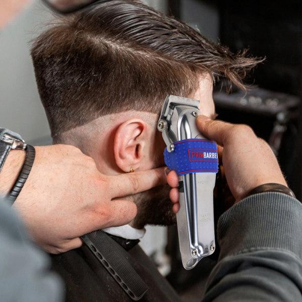 1 st halkfri frisörklippare greppband ärm hårklippare hålla Red 45*24.5mm