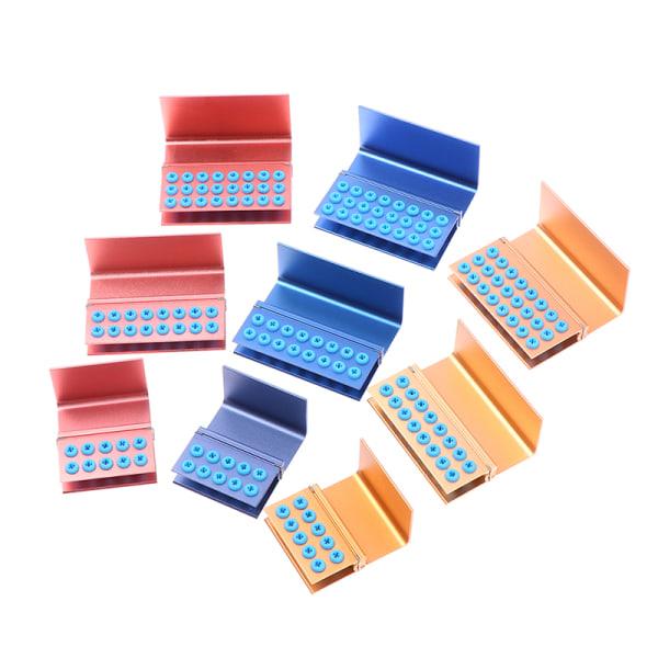 10/16/24 Holes Dental Burs Holder Block Silicon Cover Autoclava
