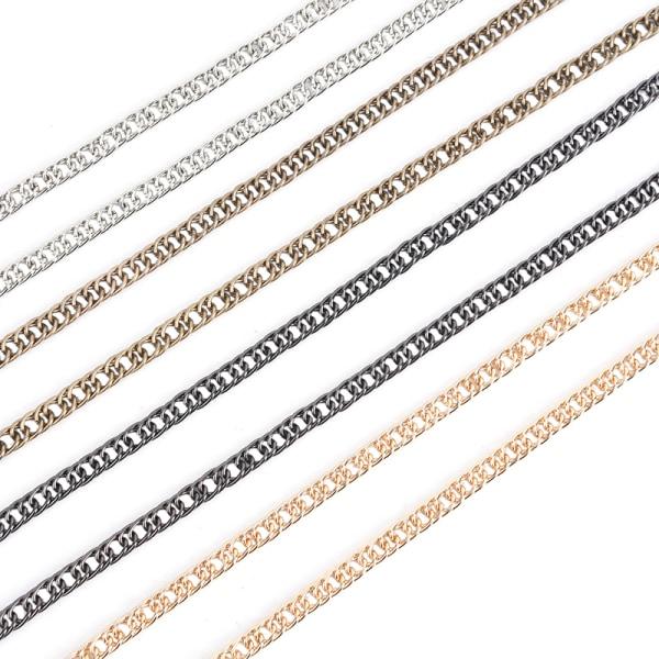 100 cm ersättningskvinnor Crossbody Shoulder Tote Strap Chain Han