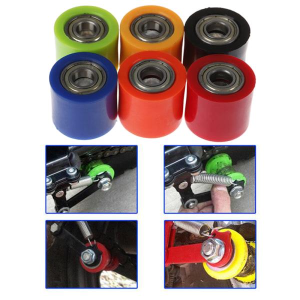 10mm drivkedja rullhjul glidreglage hjulstyrning för stre Orange