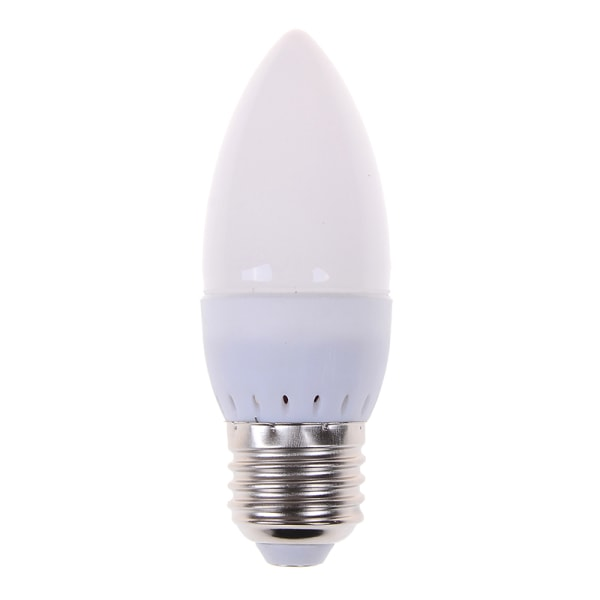 1Pc E14 E27 Led ljuskronljuslampa naturlig vit varm