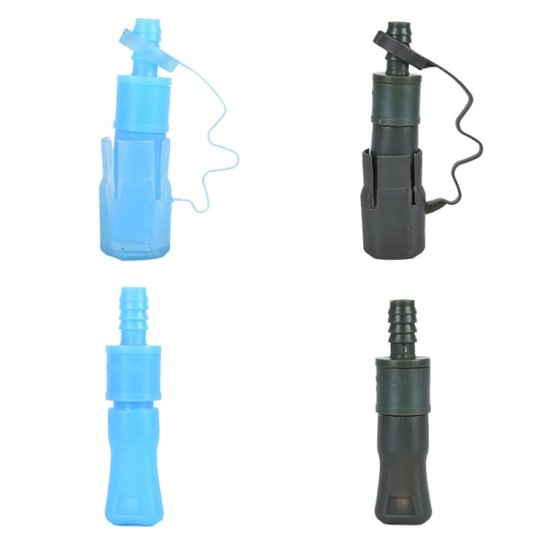 1 st Utomhus Vattenpåse Silikon Bite-Valve Hydration Pack Munstycke