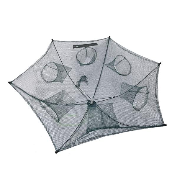 1st vikta bärbara hexagon 6-håls automatiska fiske räkor tr