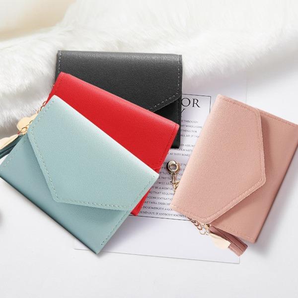 2021 Kvinnors plånbok Tofshängare Kort plånbok Trend Liten Fa