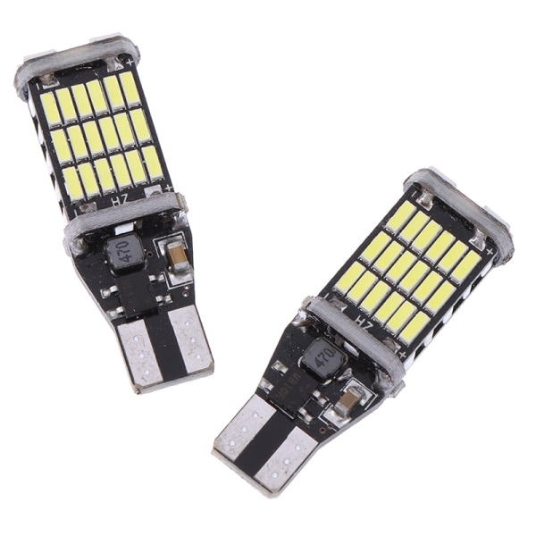 2x Canbus T16 T15 921 W16W LED-glödlampa för bilbackup