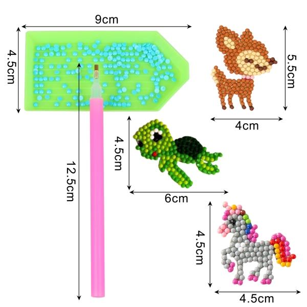 36st 5D diamantmålning klistermärken kit för barn och vuxna Begi