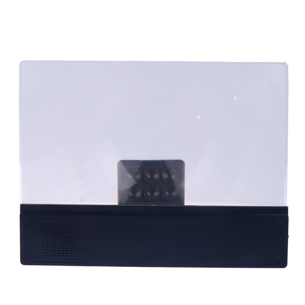 3D mobiltelefon skärmförstorare Bluetooth stereohögtalare HD Vi