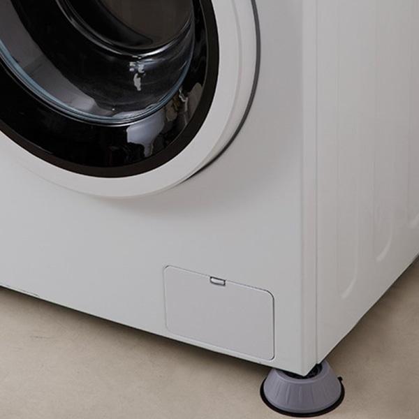 4st universal vibrationsdämpande fötter pad tvättmaskin gummi och onesize