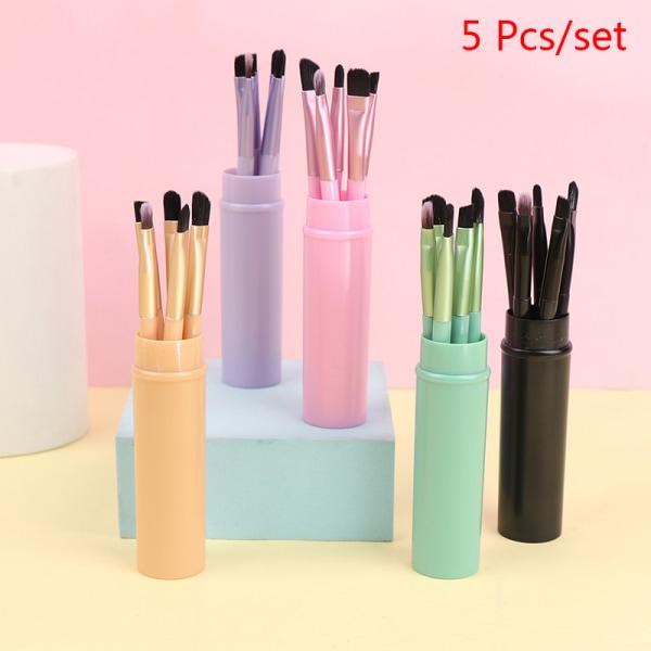 5 st Makeup Brushes Set Eyeshadow Eyeliner Eyebrow Lip Brushes