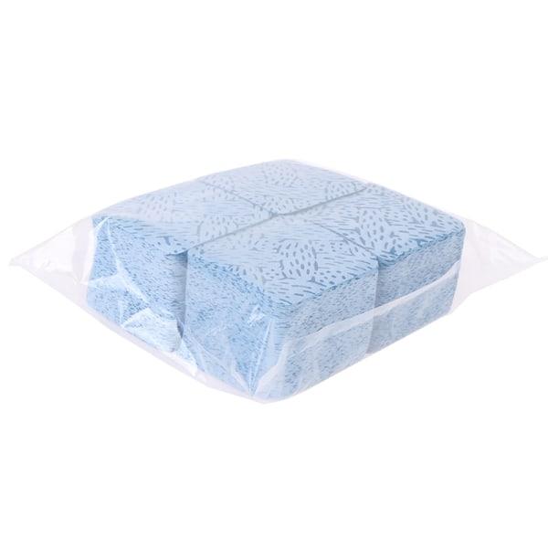500st papper bomullsservetter ögonfrans limborttagare torkar lim Blue