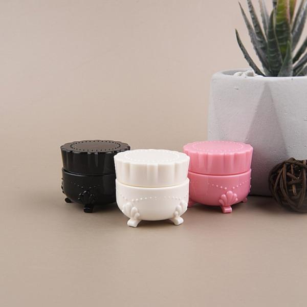 5g plast fyrbenta påfyllningsbara flaskor Tom nagellackflaska