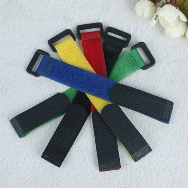 5st Fiskeverktyg Rod Tie Strap Belt Tackle Elastic Wrap Band