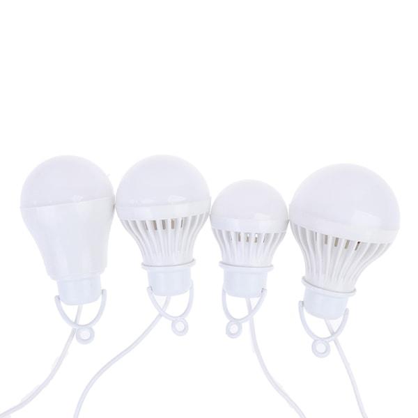 5V 3W-12W USB-lampa bärbar lampa LED för vandring camping Te