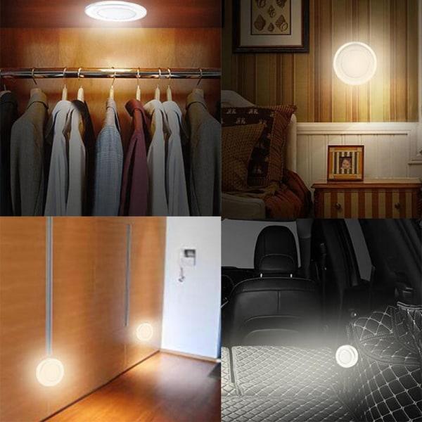 6led skåp ljus pir köksgarderob skåp garderob touch la white